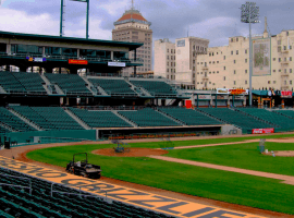 Even after a $3.5 million ballpark facelift, the Fresno Grizzlies get demoted from Triple-A to Low Single-A. (Image: Getty)
