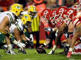 The Green Bay Packers and Kansas City Chefs are the public's odds favorites to win the Super Bowl. (Image: Jamie Squire/Getty)