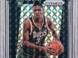This one-of-one Giannis Antetokounmpo rookie card sold for $1.8 million this week. (Image: Goldin Auctions)