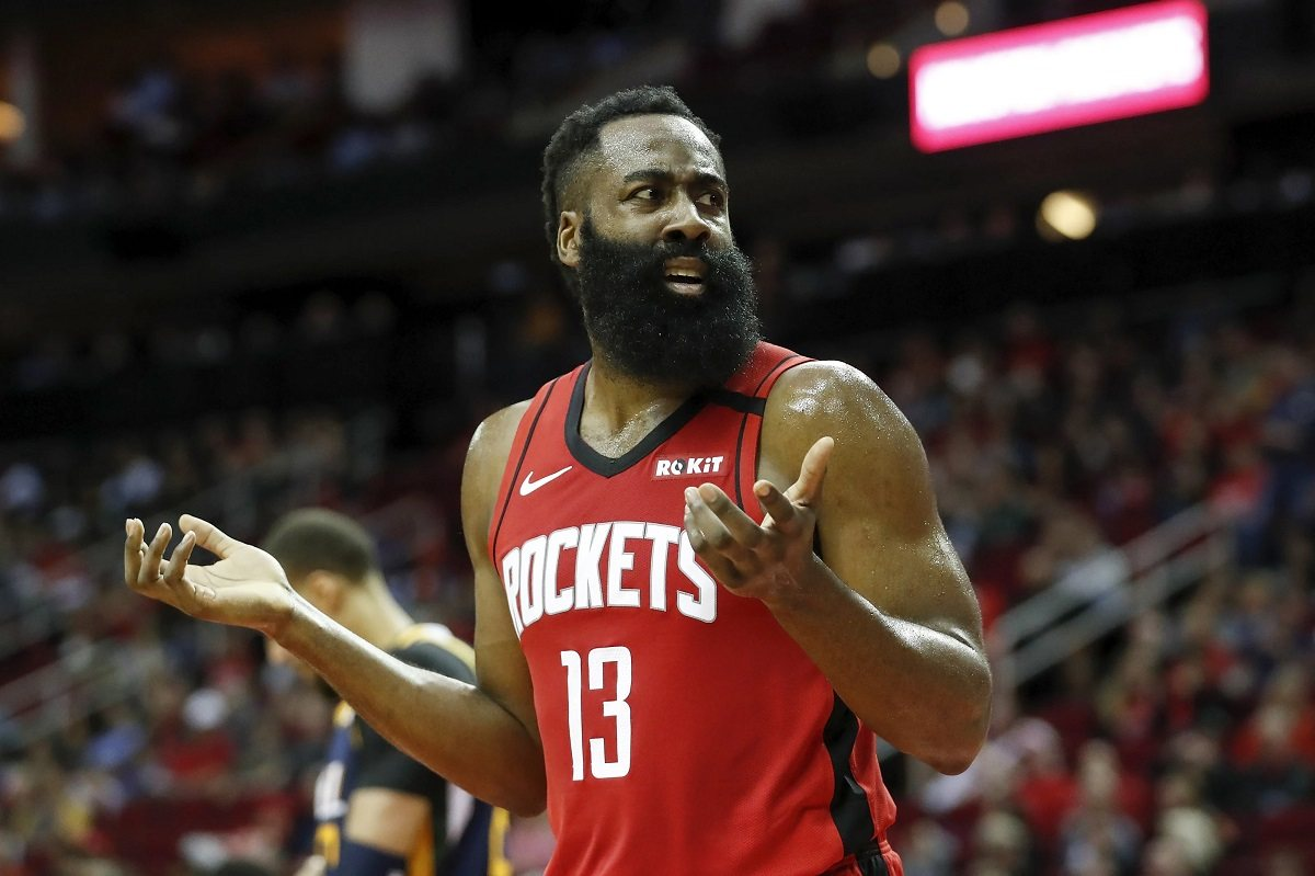 James Harden Houston Rockets Trade Philadelphia Philly 76ers Sixers
