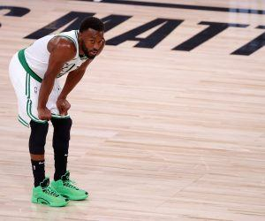 Kemba Walker knee injury Boston Celtics out