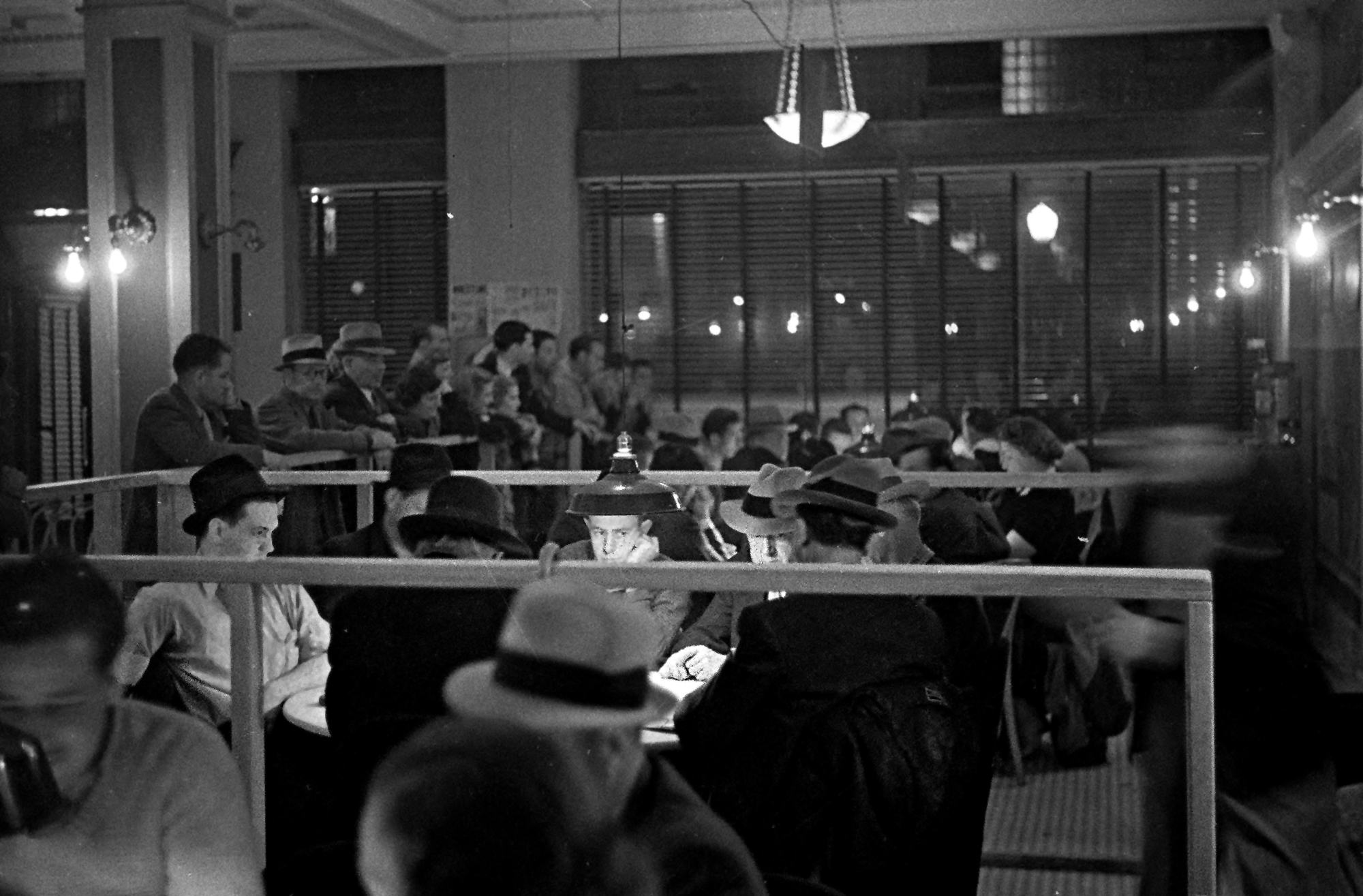 California cardrooms flourished in the 1930s.