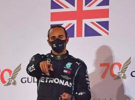 Lewis Hamilton will race at the Abu Dhabi Grand Prix this weekend after testing negative for COVID-19. (Image: AFP)