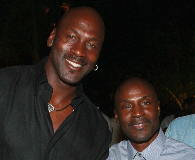 Michael dan Larry Jordan