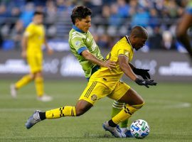 The Columbus Crew will host the Seattle Sounders in the 2020 MLS Cup Final. (Image: Jennifer Buchanan/USA Today Sports)