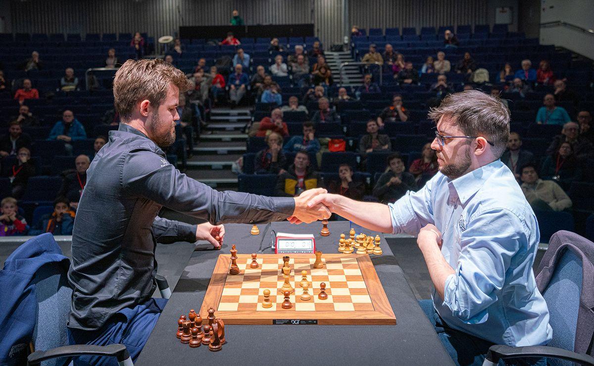 Speed Chess Championship Carlsen MVL odds