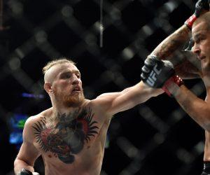 UFC Fight Island McGregor Poirier