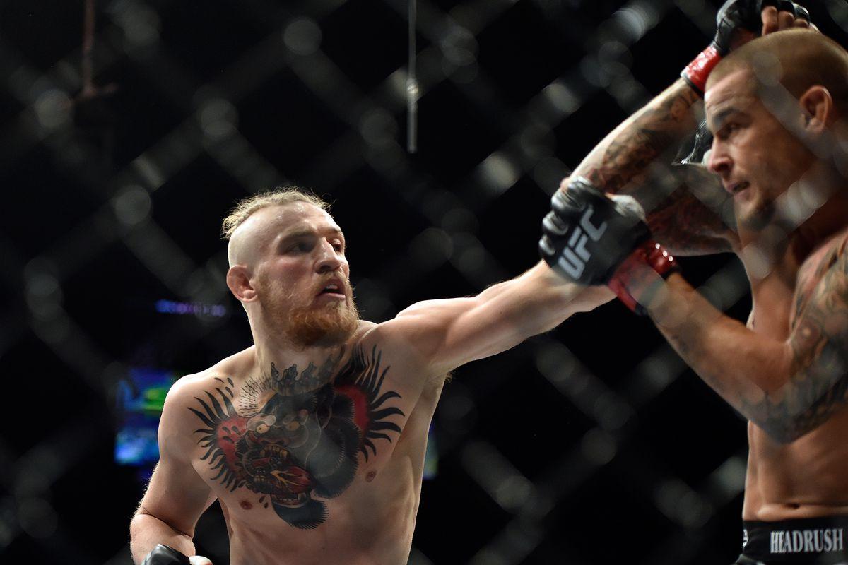 UFC Fight Island McGregor Poirier