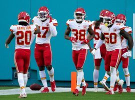 The Kansas City Chiefs currently hold the critical No. 1 seed in the AFC, which would earn them a first-round bye in the NFL playoff bracket. (Image: Mark Brown/Getty)