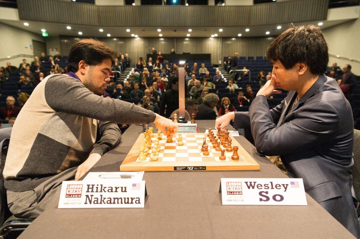 Nakamura So Odds Speed Chess Championship