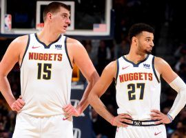 The Denver Nuggets seek a third-consecutive Northwest division title with Nikola Jokic and Jamal Murray. (Image: Porter Lambert/Getty)