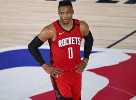 Houston Rockets trade Russell Westbrook to the Washington Wizards for John Wall. (Image: Ryan Mansfield/Getty)