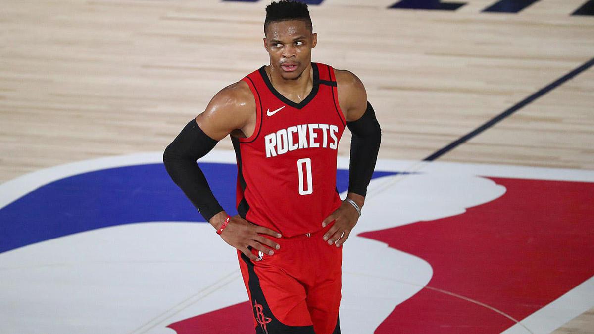 Russell Westbrook memperdagangkan John Wall Houston Rockets Washington Wizards