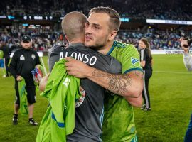 The Seattle Sounders will face off against Minnesota United and former captain Osvaldo Alonso in Monday's Western Conference final. (Image: Brace Hemmelgam/USA Today Sports)