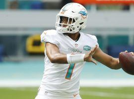 Miami Dolphins QB Tua Tagovailoa face their toughest opponent of the season with the Kansas City Chiefs. (Image: Michael Reeves/AP)