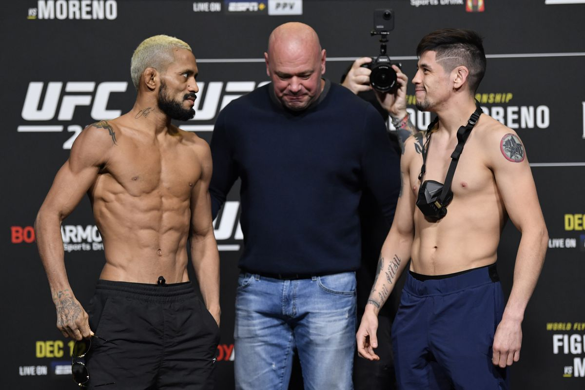 UFC 256 Live Results
