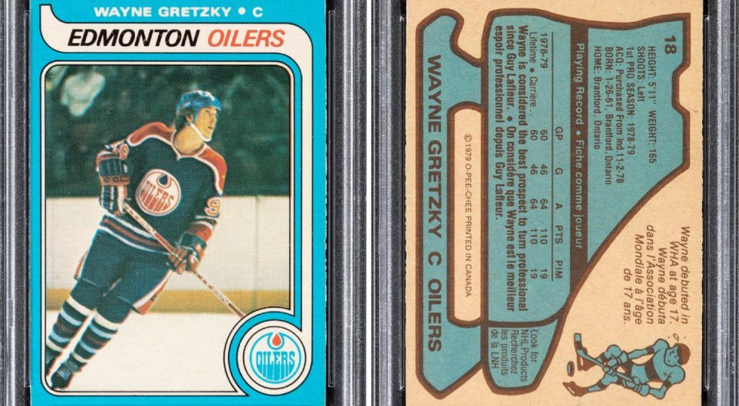 Wayne Gretzky's rookie card breaks the million dollar mark at auction.