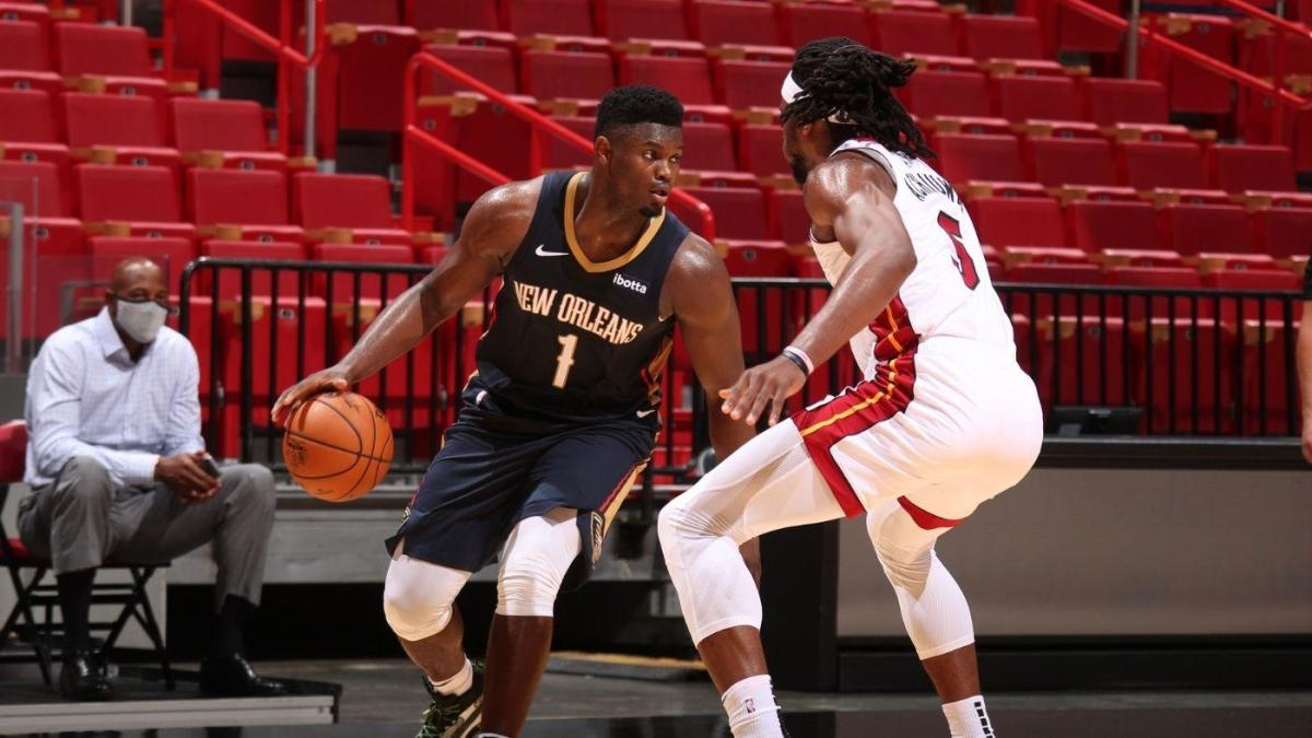 New Orleans Pelicans Zion Williamson video