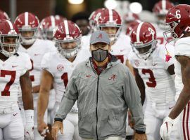 Alabama has been covering spreads easily most of the year, and Saturday's SEC Championship game against Florida should be no different. (Image: USA Today Sports)