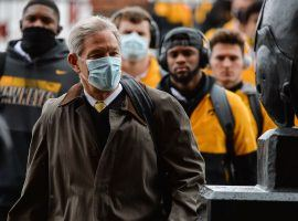 Iowa Football on Pause Due to COVID-19 Outbreak, Infected Head Coach Still Wants Team to Play in Music City Bowl