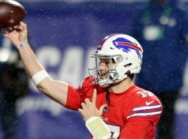 Josh Allen leads the Buffalo Bills to their tenth win of the season. (Image: Marco Esquondoles/Getty)