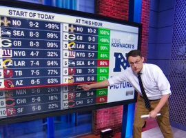 NBC Appeals to Bettors' Sensibilities by Rolling Out 'Chartthrob' Steve Kornacki During Sunday Night Football