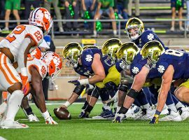 Clemson and Notre Dame is one of 10 college football conference championship games set for this weekend. (Image: USA Today Sports)