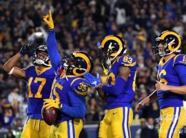 The Los Angeles Rams are giving away 17 points against the New York Jets at home, but should be able to cover the spread. (Image: Getty)