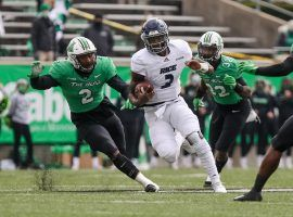 Rice pulled off the shocker in College Football Week 14 betting, upsetting No. 20 Marshall, 20-0 on Saturday. (Image: Getty)