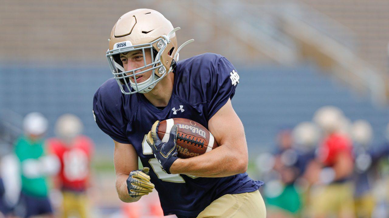 Sorotan punt Notre Dame, Matt Salerno College Football Week 14