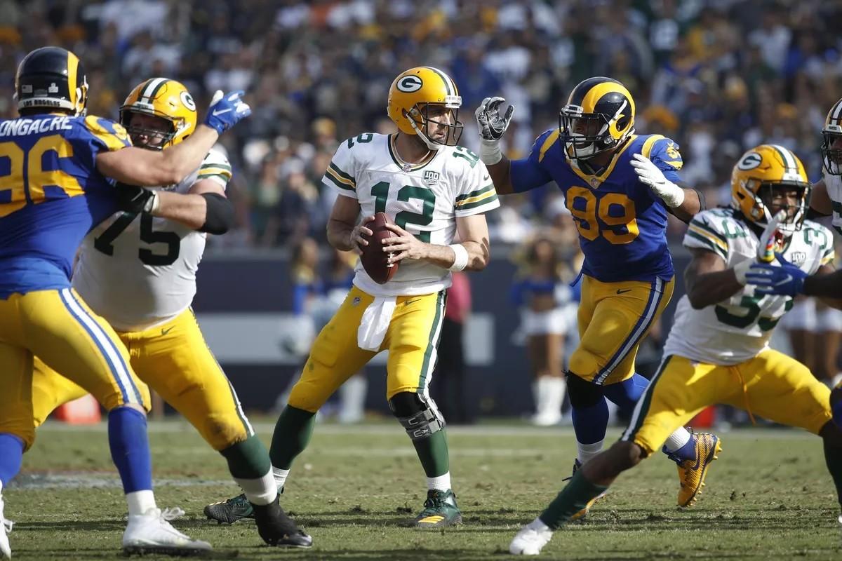 Pratinjau Taruhan Putaran Divisi NFC Green Bay Packers LA Rams Aaron Rodgers Donald