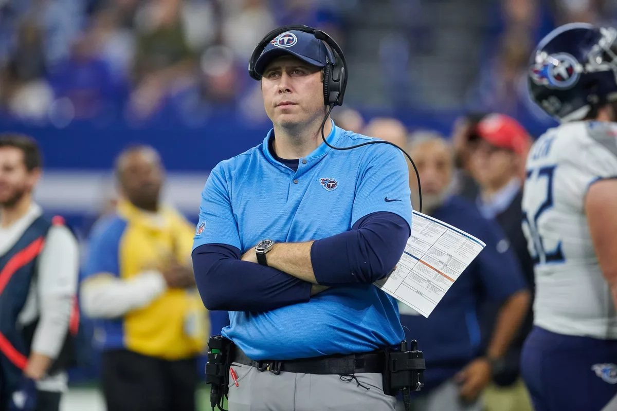 Arthur Smith Atlanta Falcons new head coach hired Titans OC