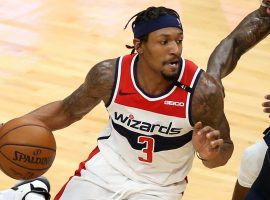 Bradley Beal unleashed another huge scoring night with 47 points against the New Orleans Pelicans, but the bottom-feeding Washington Wizards lost again. (Image: Chuck Cook/USA Today Sports)