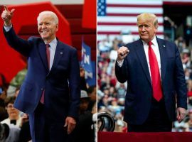 Bettors wagering on President-Elect Joe Biden got the point with decent odds compared to his chances of winning. As for stubborn Donald Trump bettors, they felt like they were hit by a fist when he didn't repeat his upset victory of 2016. (Image: AP left/New York Times right)