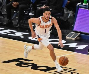 Devin Booker Phoenix Suns Denver Nuggets NBA Preview Knicks Melo Blazers