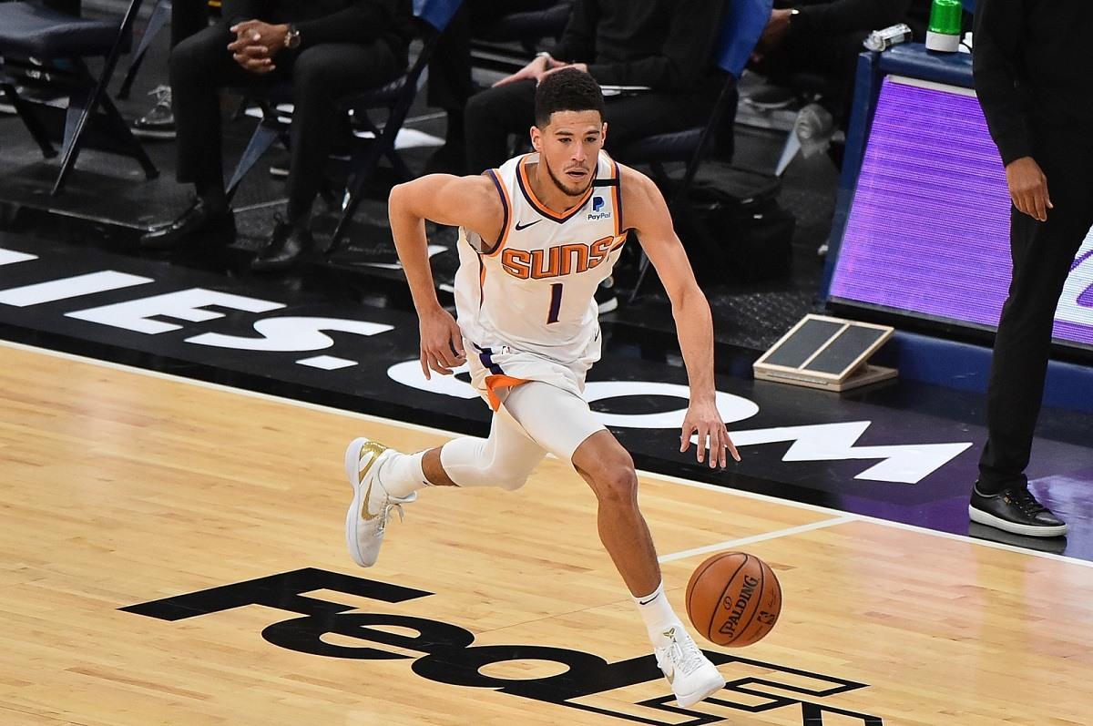 Devin Booker Phoenix Suns Denver Nuggets Pratinjau NBA Knicks Melo Blazers