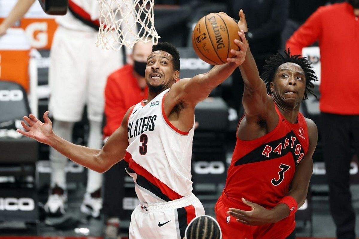 CJ McCollum Foot Injury Report NBA Portland Trail Blazers Out