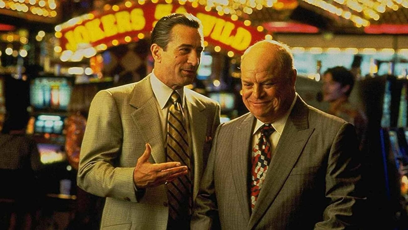 Martin Scorsese film Casino Las Vegas Robert DeNiro Joe Pesci Sharon Stone