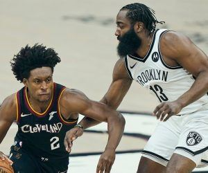 Collin Sexton Cleveland Cavs Brooklyn Nets James Harden Big 3 Kyrie Irving