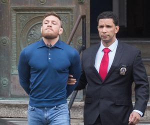 Conor McGregor personal injury charge
