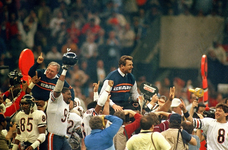 Mike Ditka Chicago Bears head coach