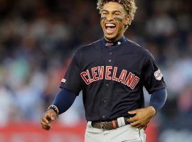 The New York Mets traded four players to the Cleveland Indians in exchange for Francisco Lindor (pictured) and Carlos Carrasco. (Image: Elsa/Getty)