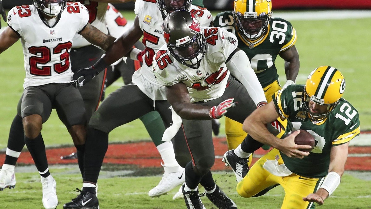 NFC Championship Preview Green Bay Packers Tampa Bucs Brady Rodgers