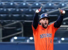 George Springer signed a six-year, $150 million contract with the Toronto Blue Jays. (Image: Ezra Shaw/Getty)