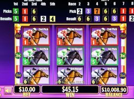Historical Horse Racing (HHR) machines resemble slot machines, which are banned in Kentucky. They provided $2.2 billion to Kentucky's economy in 2019 and are a major economic engine for the state's key Thoroughbred industry. (Image: Canadian Thoroughbred Magazine)