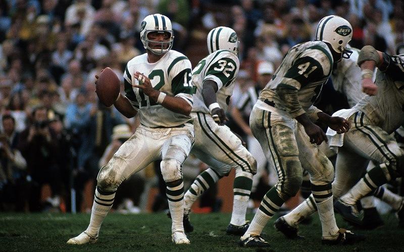 Joe Namath Super Bowl III NY Jets MVP
