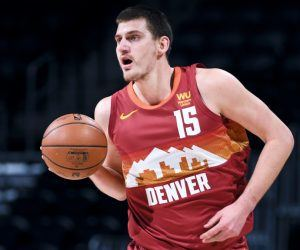 Nikola Jokic MVP odds Denver Nuggets NBA Greek Freak Luka Doncic