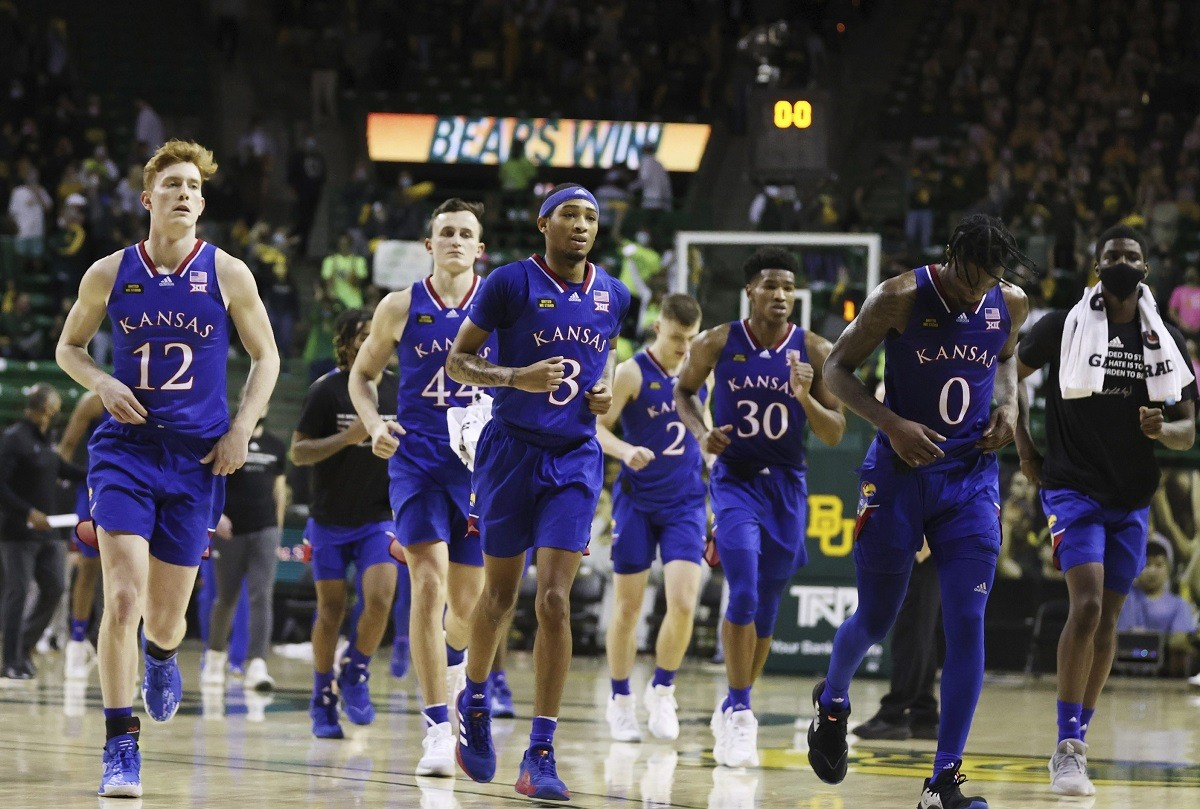 Kansas Jayhawks college basketball losing streak