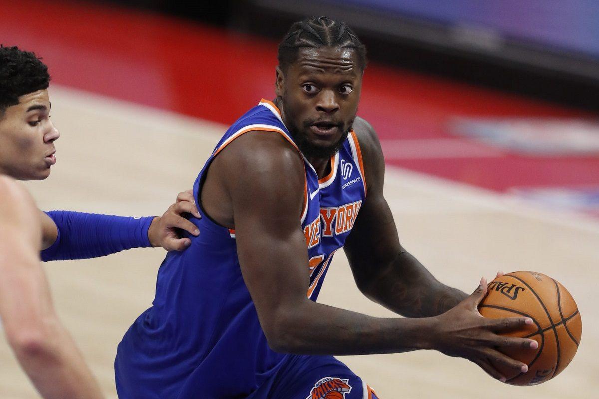 New York Knicks Julis Randle RJ Barrett