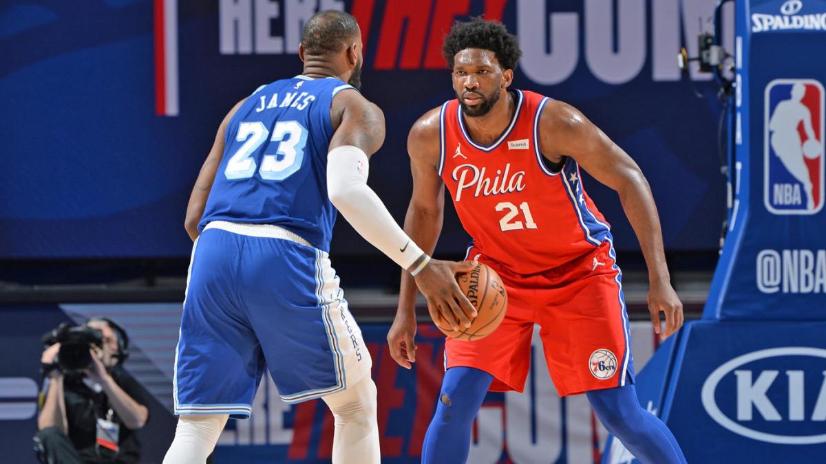 LeBron James Joel Embiid MVP Odds Betting NBA